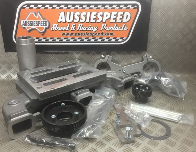 Inline 6 Kit : Chevy inline and super charger kit by aussiespeed