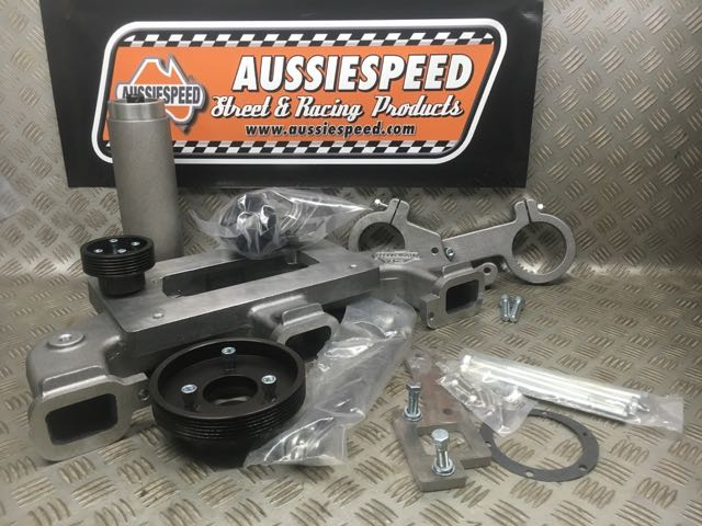 Weiand Chevy Straight Kit